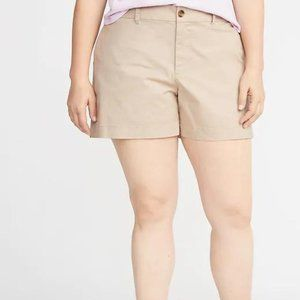 Old Navy Mid-Rise Plus-Size Everyday Twill Shorts
